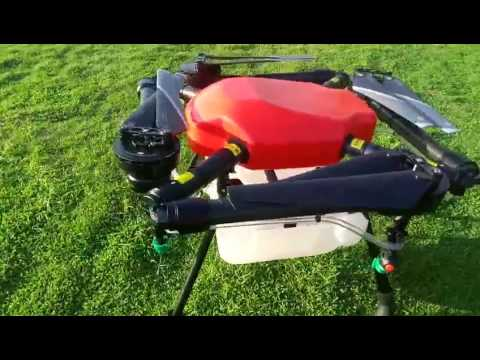 SkyhawkRC X4-10 Agricultural spraying pesticide drone folding design quadcopter spraying drone