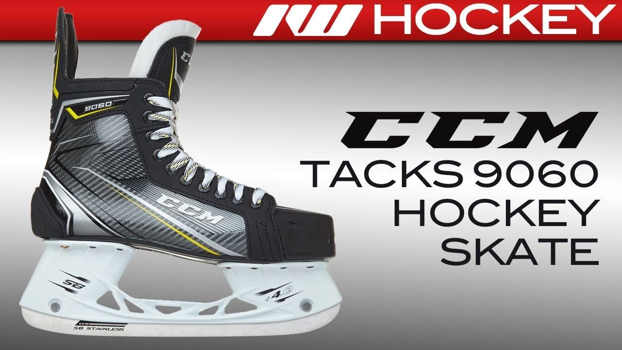 9b8d0b29fb6 CCM Tacks 9060 Skate Review – Hockey Videos