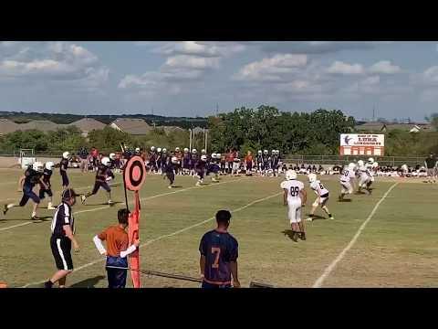 Luna Middle School vs Vale. San Antonio, Tx football