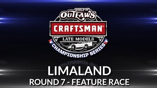 World of Outlaws Craftsman Late Model Championship // Round 7 - Limaland Main Event