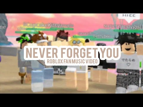 Zara Larsson - Never Forget You (Roblox Fan Music Video)