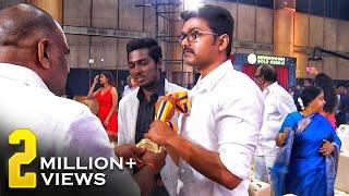 Respect! We enjoyed Vijay's Medal Grabbing Moment - Uncut Footages!