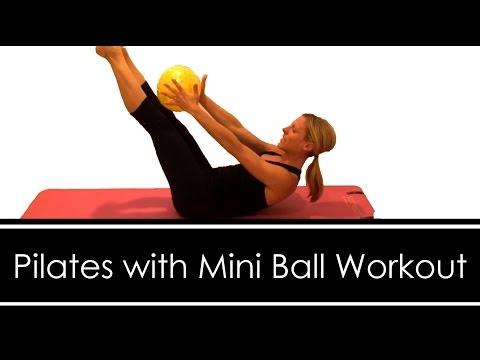 Pilates with Mini Ball Workout