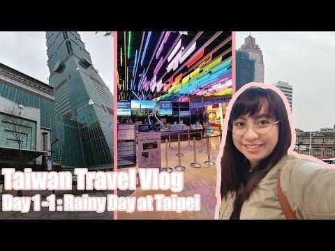 Travel Vlog: Sketchy Hotel??? Taipei 101! MILK TEA | 01 | TAIWAN (2018)
