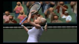 Pro Tennis WTA Tour - Gamecube Gameplay