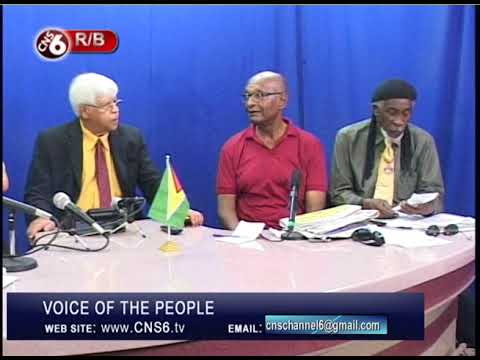 VOICE OF THE PEOPLE GUYANA 13 SAT JAN 2018
