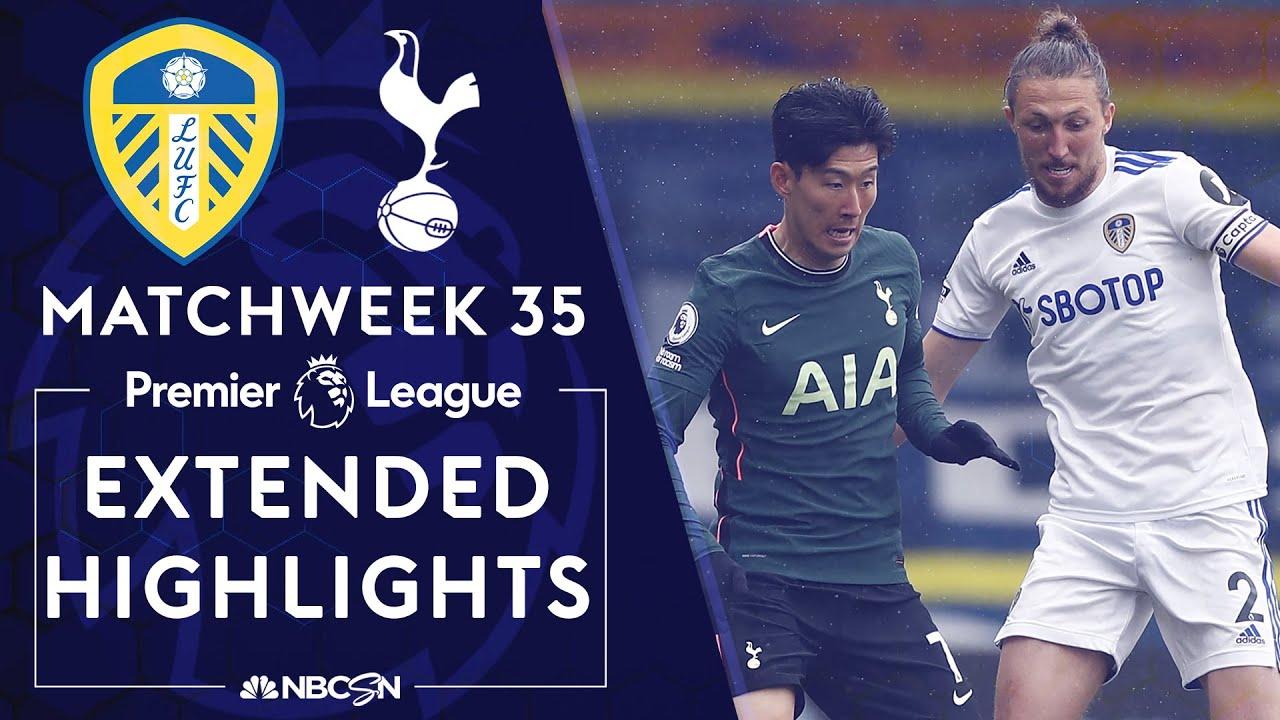 Download Leeds United v. Tottenham | PREMIER LEAGUE HIGHLIGHTS | 5/08/2021 | NBC Sports