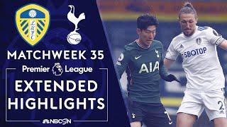 Leeds United v. Tottenham | PREMIER LEAGUE HIGHLIGHTS | 5/08/2021 | NBC Sports