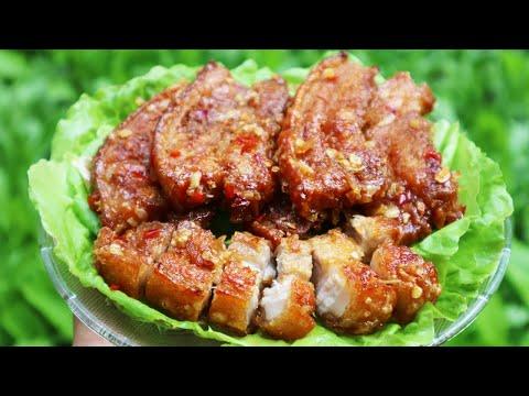 Thịt Heo Chiên Nước Mắm Giòn Bì Ngon Tuyệt - Tuấn Nguyễn Food