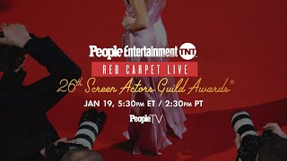 26th Screen Actors Guild Awards: PEOPLE, Entertainment Weekly & TNT Red Carpet Live | PeopleTV