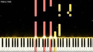 Zivilia - Aishiteru Piano Tutorial (Medium)