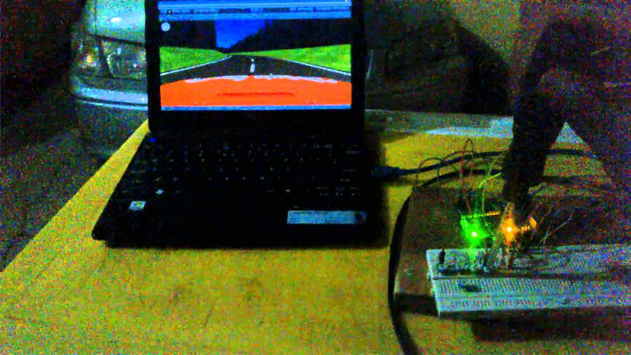 Unity d arduino game controller youtube