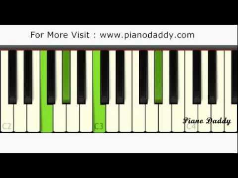 Piano piano chords of tum hi ho : Tum Hi Ho (Aashiqui 2) Piano Tutorial With Chords ~ Piano Daddy ...