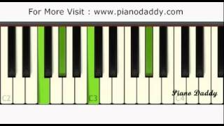 Tum Hi Ho (Aashiqui 2) Piano Tutorial With Chords ~ Piano Daddy