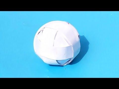 Как из картона сделать шар