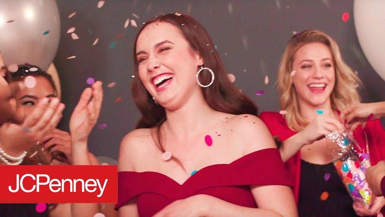 Prom Ready with Camila Mendes & Lili Reinhart | JCPenney x YMCA ...