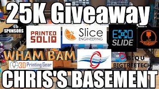Chris's Basement 25K Subscriber Giveaway!!!