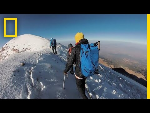 How Climbers Take on North America's Highest Volcano | National Geographic