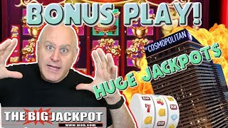 🎰NEVER SEEN! 🎰Bonus Play from Las Vegas! 💸MY BIGGEST JACKPOT on Dancing Drums | The Big Jackpot