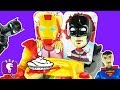 Black Panther Plays PIE FACE Challenge! Surprise for Winner by HobbyKidsTV