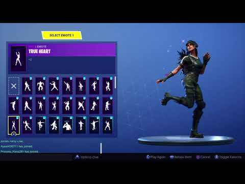 Fortnite- Trailblazer With All My Owned Emotes