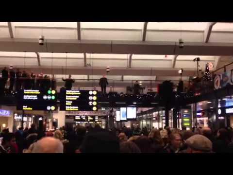Julekonsert Oslo S 21. desember 2012