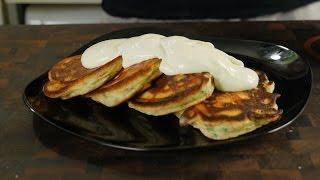 Baсon pancakes (оладьи с беконом)
