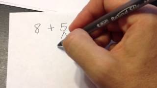 What is 8+5? 2nd Grade Common Core Math