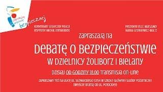 Debata o bezpieczeństwie w dzielnicach Żoliborz i Bielany
