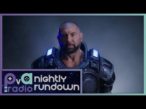 Dave Bautista Will Be Playable in Gears 5 - A PvA Nightly Rundown Segment
