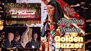 WHO IS ANGELINA JORDAN I GOLDEN BUZZER AMERICA&#39S GOT TALENT