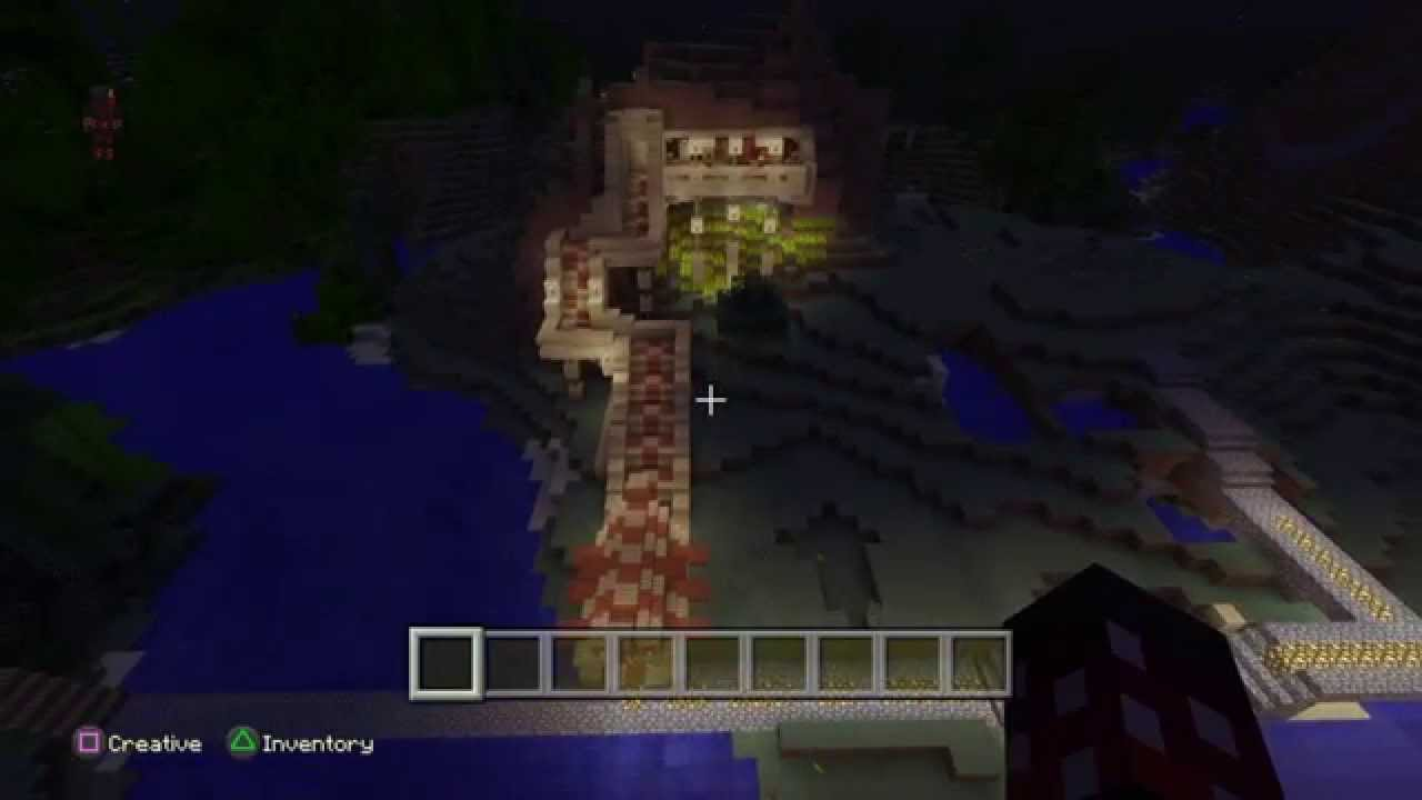 minecraft ps4 edition modern house youtube