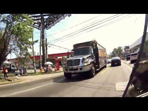 Daily ride through Panamanian Streets