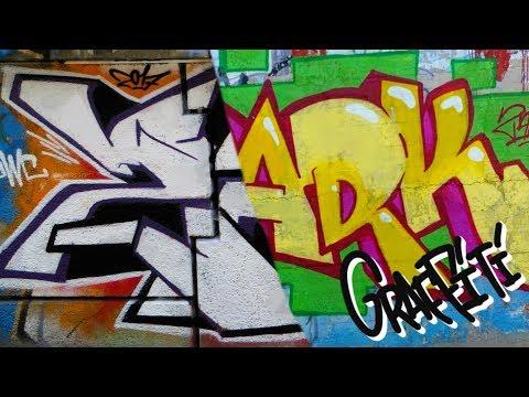 ZARK graffiti - solid letters