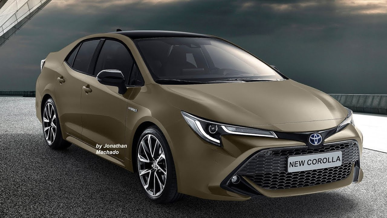 Render New 2020 Toyota Corolla 12th Generation Bmw Engine