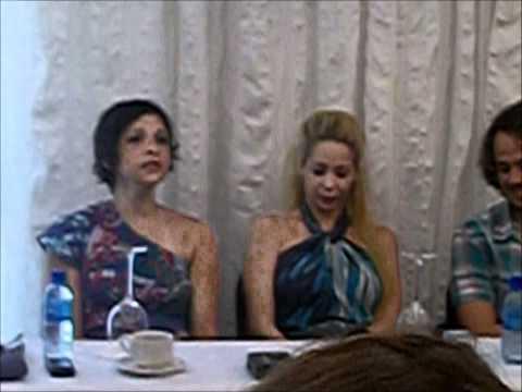 Thiago Santana Coletiva de Imprensa XANADU com Danielle Winits