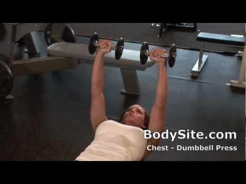 Ava Cowan Exercise Videos - Dumbbell Press