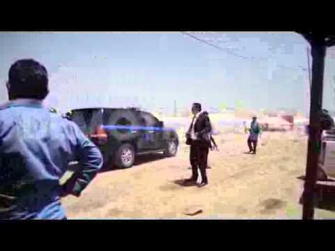 Iraq: Ahmed Chalabi visits Khazir refugee camp near Mosul