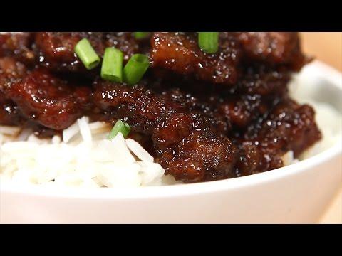 The Best Mongolian Beef