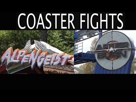 Alpengeist vs. Afterburn - COASTER FIGHTS!