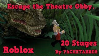 Roblox Escape the Theatre Obby.