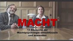"""Macht! 13 Elemente der Machtpsychologie entschlüsseln und anwenden (Beispiel: Serie """"Borgen"""")"""