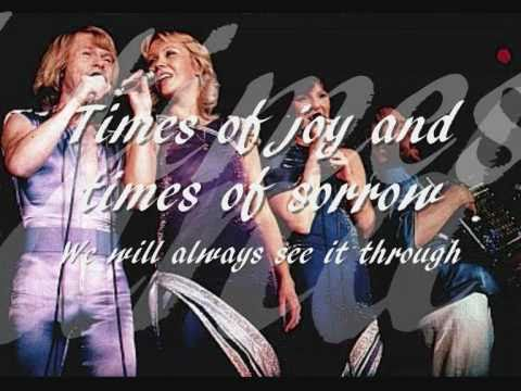 abba---the-way-old-friends-do-with-lyrics