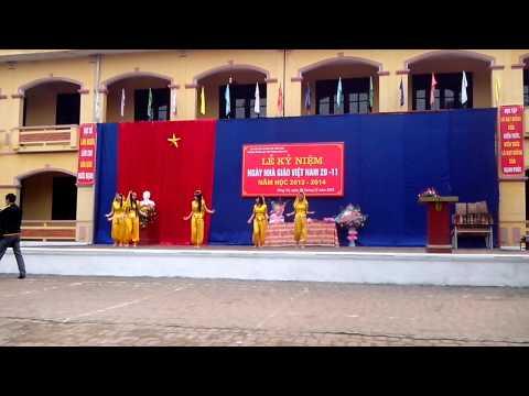 Múa Về Quê Cũ  - Trường THPT Sáng Sơn-Sông Lô-Vĩnh Phúc