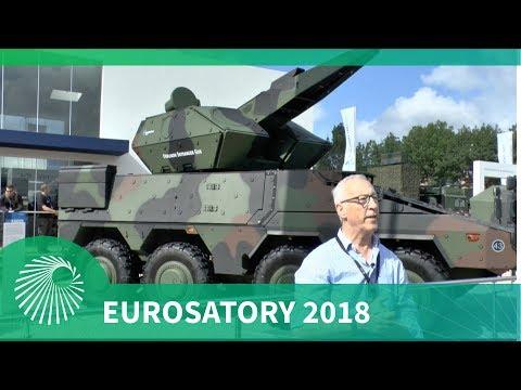 Eurosatory 2018: Rheinmetall unveils Oerlikon Skyranger Boxer