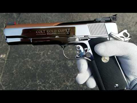 Mirror Polished Colt Gold Cup 1911