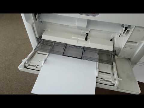 B&MB700 серия Печать на принтере в дуплексе на бумаге А5 на серии OKI B&MB700