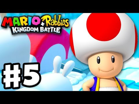 Mario + Rabbids Kingdom Battle - Gameplay Walkthrough Part 5 - Escort Toad