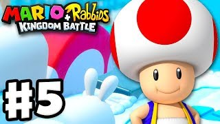 Mario + Rabbids Kingdom Battle - Gameplay Walkthrough Part 5 - Escort Toad!