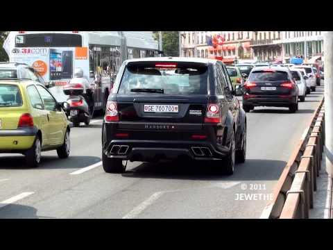 RARE Land Rover MANSORY Range Rover Sport spotted in Geneva! (1080p Full HD)